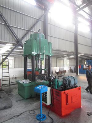 FYD1000四柱圆钢液压机